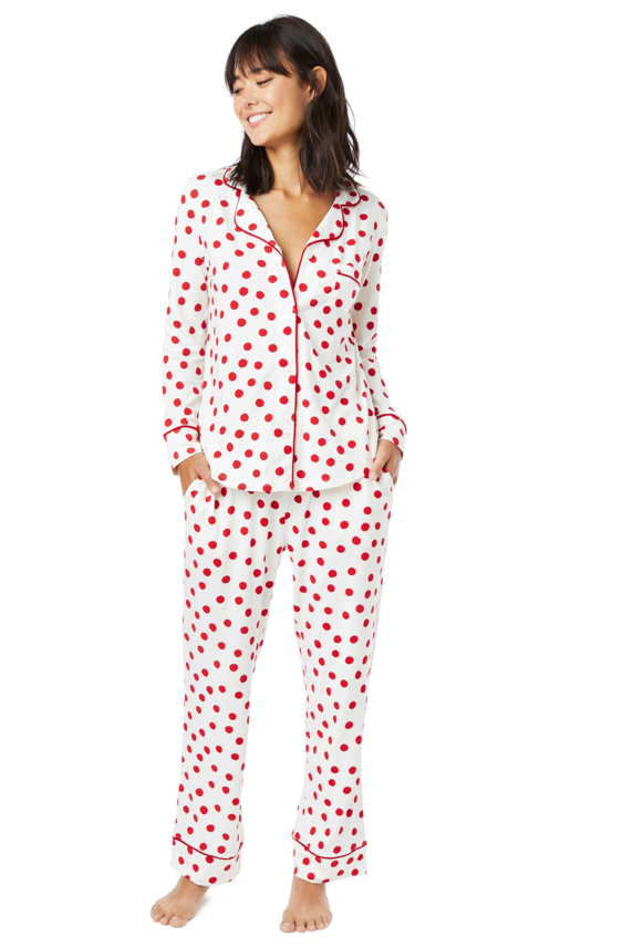 Pima Cotton Knit PJ Set