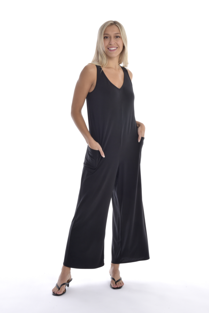 Hannah Jumpsuit in Black