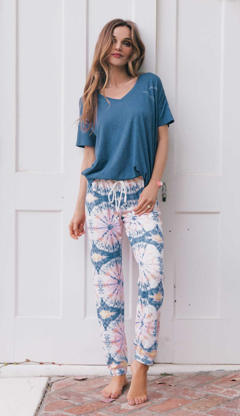 PJ Salvage Hello Sun Band Pant
