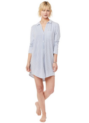 Knit Pima Cotton Nightshirt
