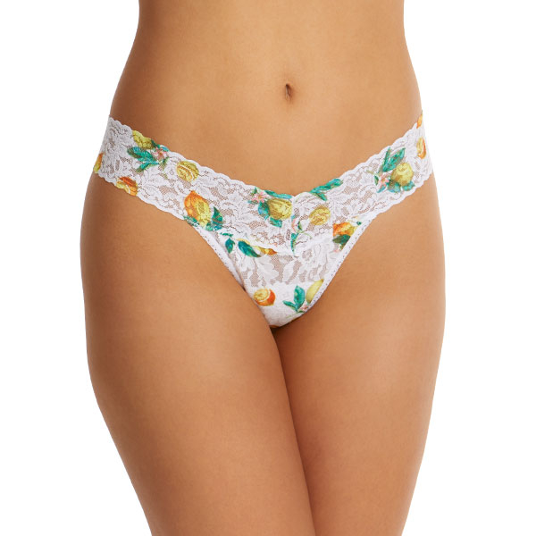 When Life Gives You Lemons Lace Low Rise Thong