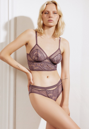 Else Petunia Triangle Longline Bra