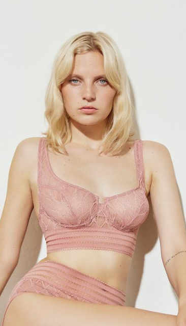 Belize English Rose Bra