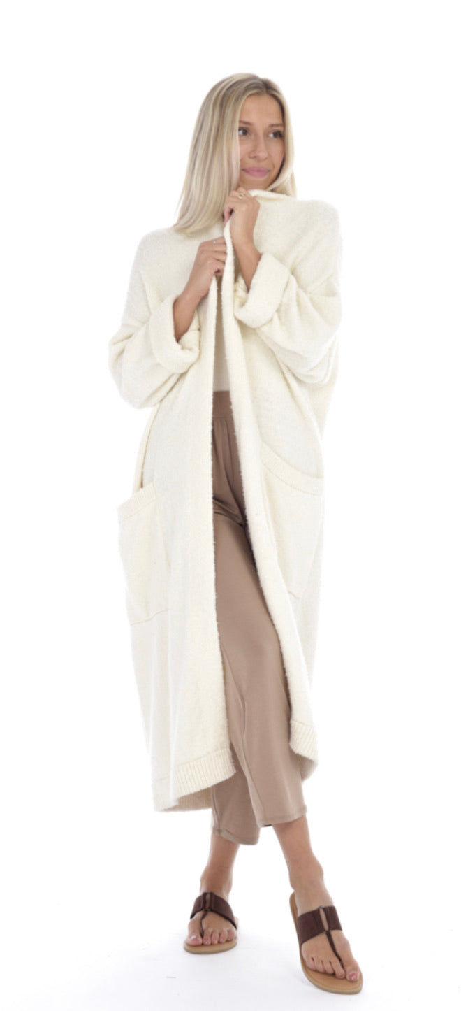 Luna Duster Ivory