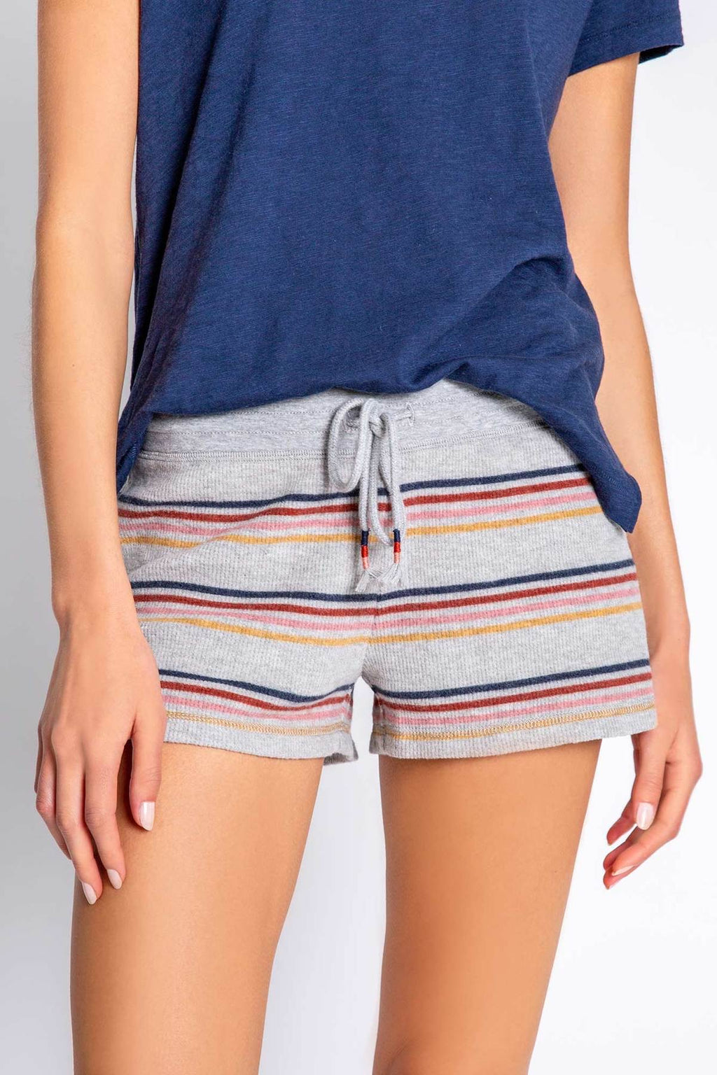Retro revival stripe short