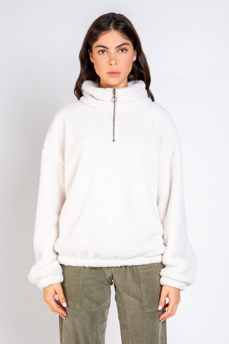 The Cuddler Zip Pullover