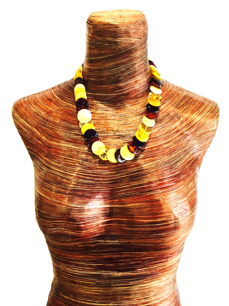 Baltic Amber Necklace N288