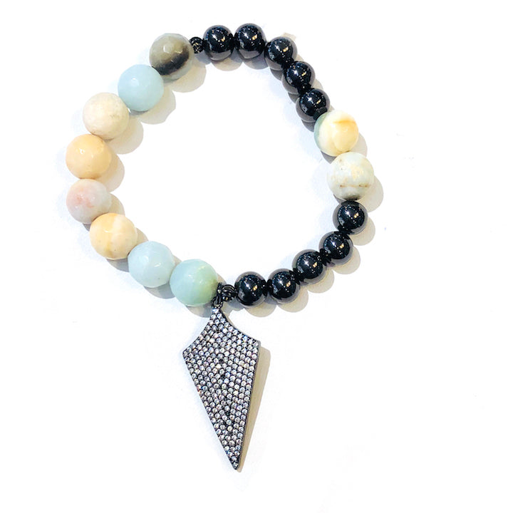 Arrowhead Beaded Bracelet
