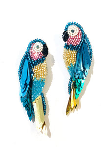 Parrot Earrings - Multicolor
