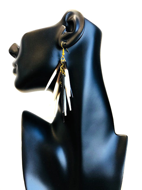 Porcupine Quill Earrings E251