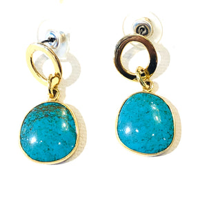 Alchemia Turquoise Earrings - #159