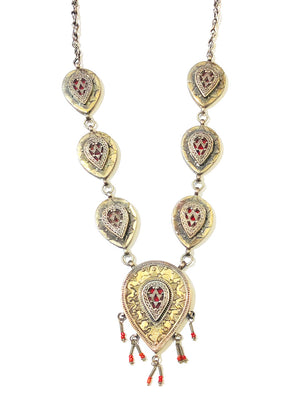 Rajasthani Carnelian Necklace