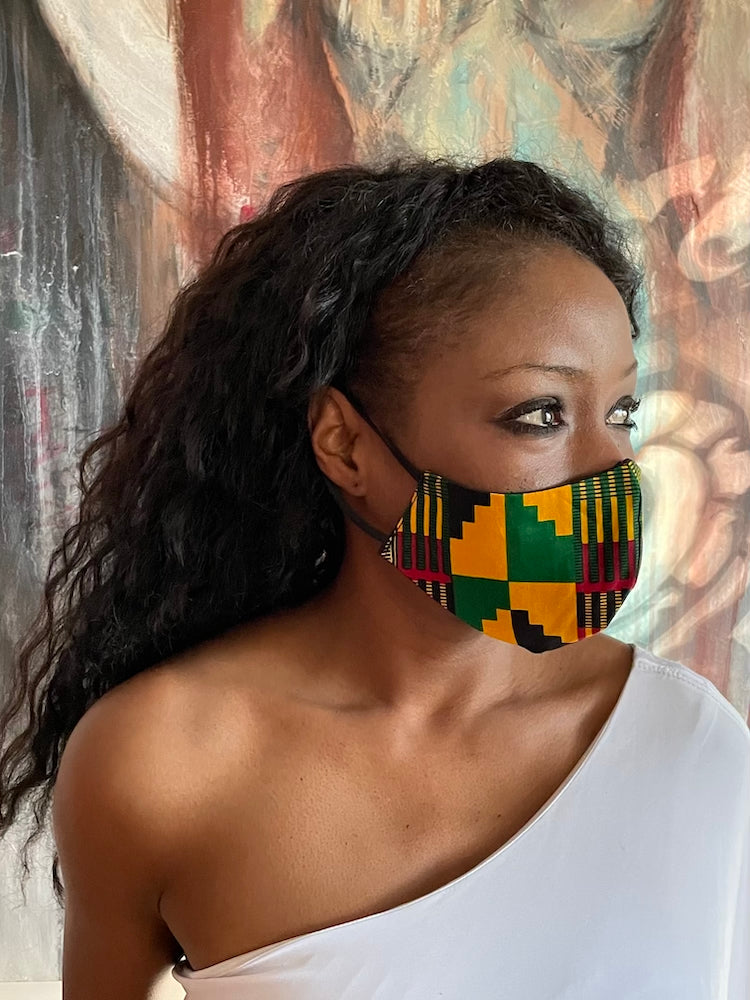 Kitenge Cloth Face Mask