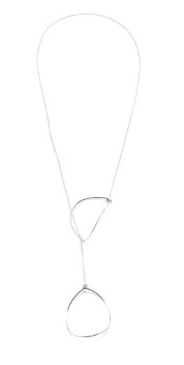 Falling Leaf Lariat Necklace