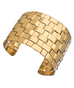 Basketweave Cuff - B38