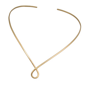Twist Neck Bar - Gold