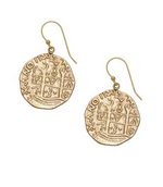 Treasure Coin Earrings