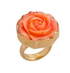 Resin Rose Ring - Color Choices