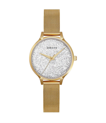 Obaku Watch Gold