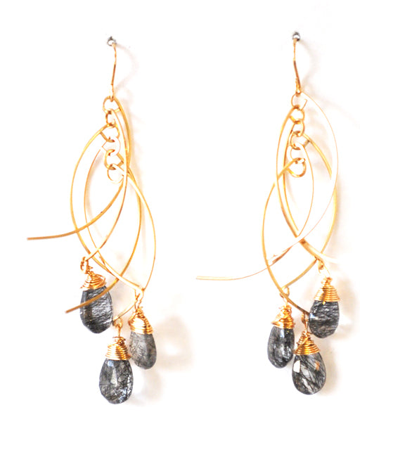 Sticks + Stones Earrings - Short