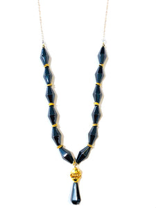 Hematite Necklace N738