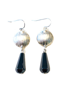 hematite earrings collection item and estate pearl