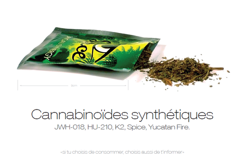 Carte Cannabinoïdes synthétiques