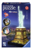 Ravensburger 3D-puzzel Statue of Liberty-Night Edition