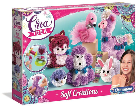 CREA IDEA SOFT CREATION PLUCHE - Clementoni