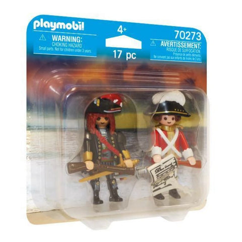 70273 Playmobil Piratenkapitein en Roodroksoldaat