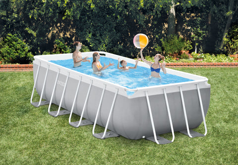 Intex Prism Frame Pool 488 x 244 x 107m