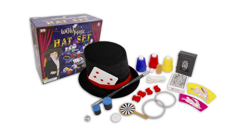 WOW 150 Tricks Magic Hat set - Goochelset