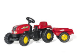 Rolly Kid tractor met trailer - 134 cm SUPERPROMO