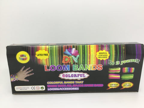 Loombands Colorful