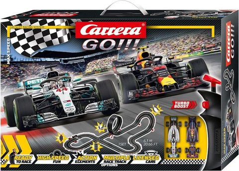Carrera GO!!! Max Speed - Racebaan superpromo