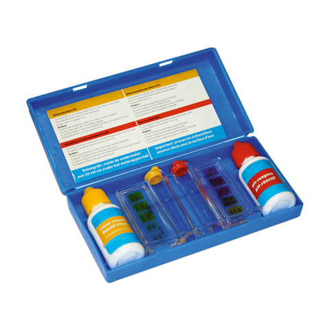 Test kit (ph + cl-testflesjes)