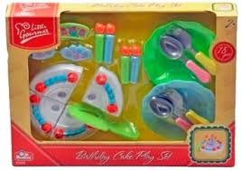 Verjaardagstaart Play set - Red Box