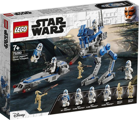 75280 - LEGO Star Wars 501st Legion Clone Troopers