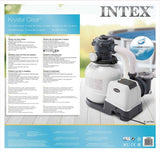 Intex 26646GS  ZANDFILTERPOMP 6 M3/UUR