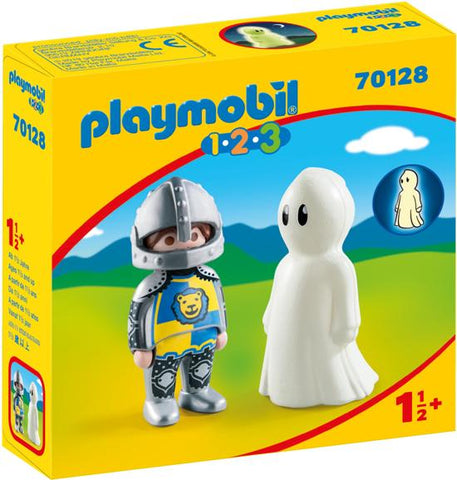 70128 123 Playmobil Ridder en spook