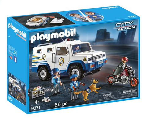 9371 PLAYMOBIL City Action Geldtransport