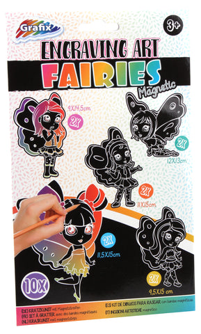 Engraving Fairies, 10pcs