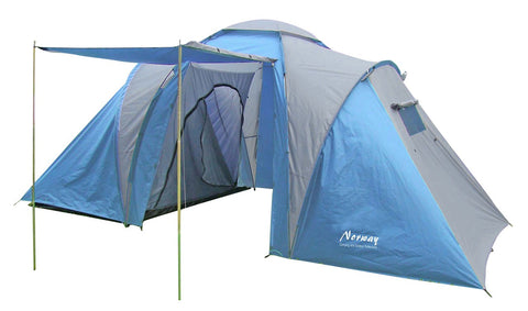 Norway Camping and Outdoor tent blauw 6 personen