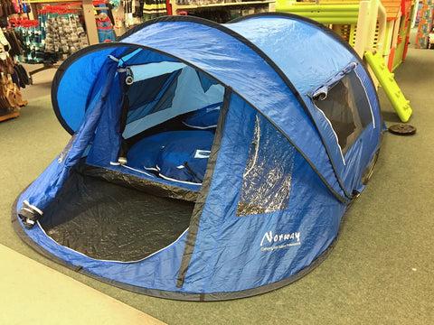 Norway Camping and Outdoor tent blauw 3 personen