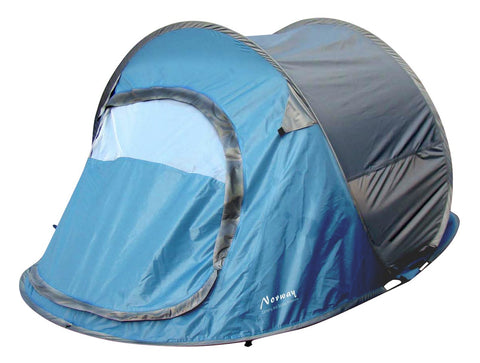 Norway Camping and Outdoor tent blauw 2 personen