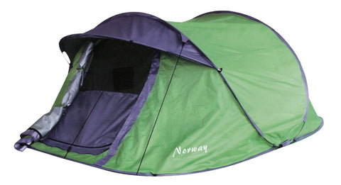 Norway Camping and Outdoor tent groen 3 personen