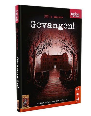 Adventure by book: Gevangen - 999 Games