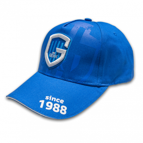 KRC GENK Pet blauw Destroyed