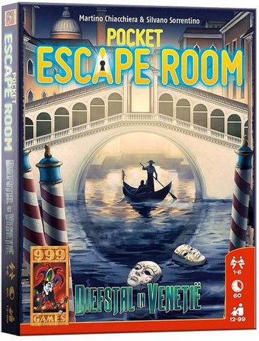 Pocket Escape Room: Diefstal in Venetië - 999 Games