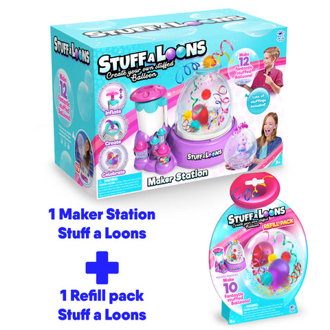 Stuff-A-Loons Maker Station + 1 refill